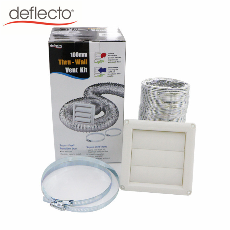 Bathroom Venting Dryer Vent Duct Cleaning Kit / Aluminum ...